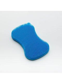 Kuhn Rikon Stay Clean 3 in 1 Scrubber 5'' x 3'' Blue
