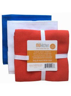 Flour Sack Dish Towels Set of 3