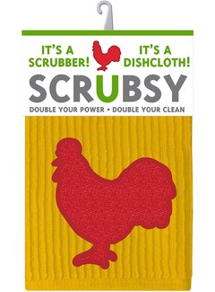 Scrubsy Cloth - Rooster