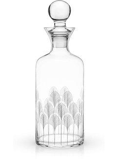 True Deco 44 oz Liquor Decanter by Viski