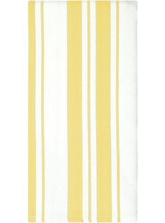 Daffodil Cotton Stripe Dish Towel