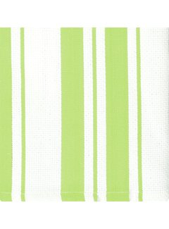 Pistachio Cotton Stripe Dish Cloth - Set of 2