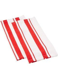 Punch Cotton Stripe Dish Cloth - Set of 2