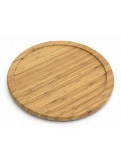 "Lipper Bamboo 10"" Turntable"