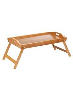 Lipper Lipper Bamboo Bed Tray W/Folding Legs