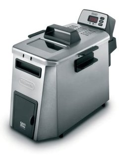 Digital Dual Zone Fryer W/Oil Drain, 3 Lb.