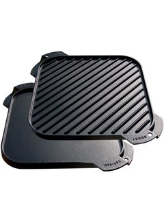 Lodge Cast Iron Reversible Grill/Griddle, 10.5""