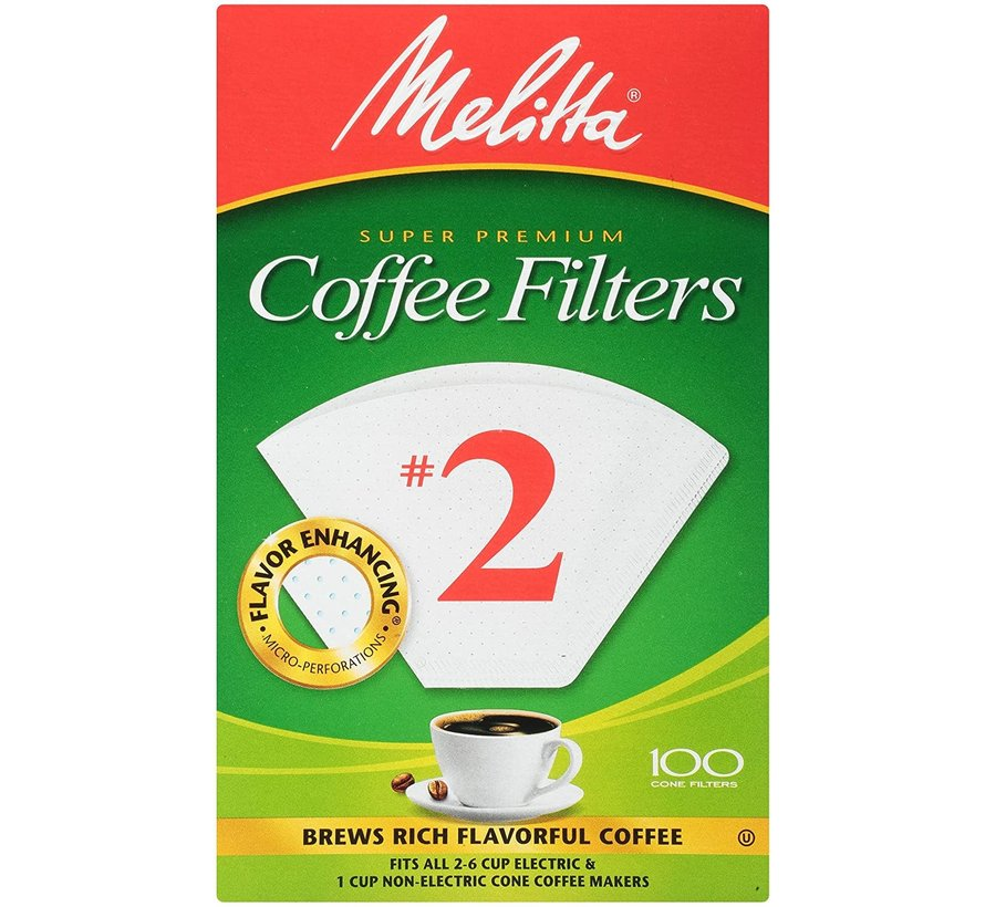 #2 Unbleached Coffee Filter - 100CT