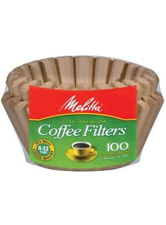 Melitta Basket Unbleached Coffee Filters - 100CT