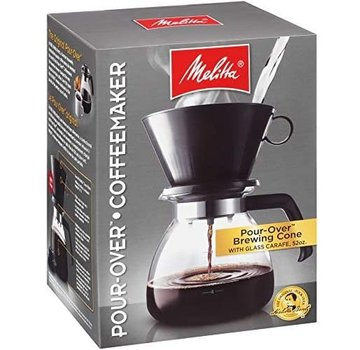 Melitta Pour-Over Coffee Brewer, 10 Cup