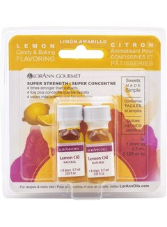 Lorann Natural Lemon Oil Twin Pk
