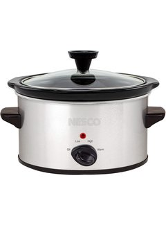 Nesco Slow Cooker, 1.5 Qt. Silver