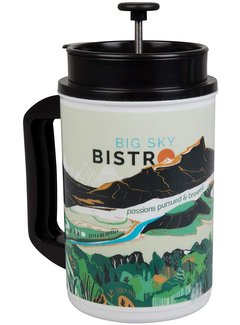 Planetary Design Big Sky Bistro French Press Mug Spring