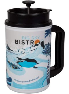 Planetary Design Big Sky Bistro French Press Mug Winter
