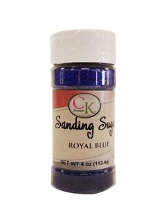 CK Products Sanding Sugar Royal Blue, 4 Oz.