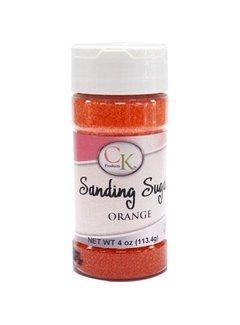 CK Products Sanding Sugar Orange, 4 Oz.
