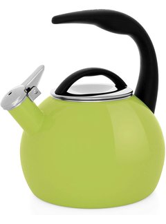 Chantal Anniversary Teakettle -  Olive Green 2 Qt.