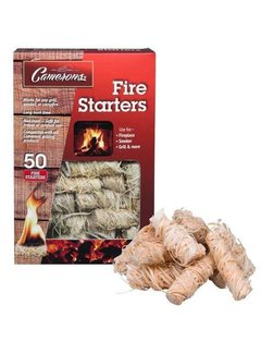 Camerons Fire Starters, Set of 50