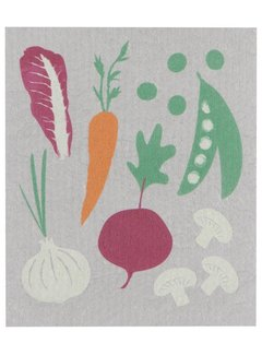 Now Designs Veggies Swedish Dishcloth