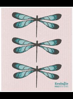 Now Designs Dragonfly Swedish Dishcloth