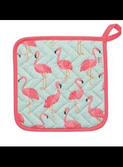 Now Designs Flamingos Potholder