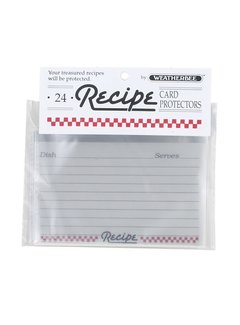 "Fletcher's Mill Recipe Card Protectors 3"" X 5"""