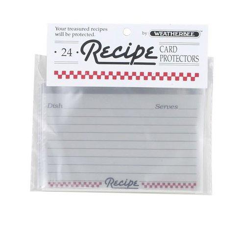 """Fletcher's Mill Recipe Card Protectors 3"""" X 5"""""""