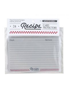 "Fletcher's Mill Recipe Card Protectors 4"" X 6"""