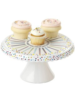 DII Happy Birthday! Cake Stand