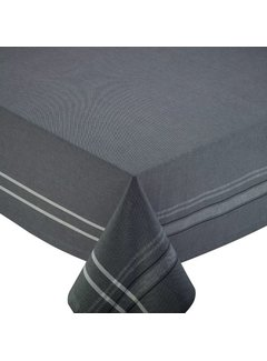 DII Gray French Chambray 60 x 104 Table Cloth