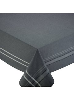"""DII Gray French Chambray Table Cloth 60"""" x 84"""""""