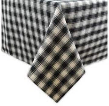 """DII French Check Tablecloth 52"""" x 52"""""""