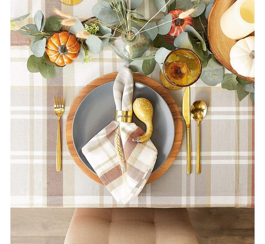 Cozy Picnic Table Cloth 52 x 52