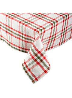 Nutcracker Plaid Tablecloth 52 x 52