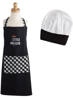 DII Little Griller Children's Chef Gift Set