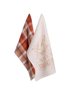 Thankful Autumn - 2 Piece Dishtowel Set