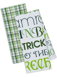 DII Lucky Day Dishtowels - Set of 2