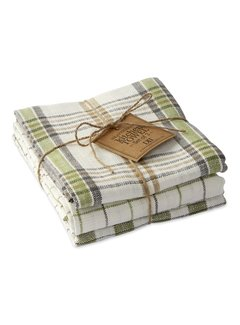 DII Green House Dishcloths - Set of 3