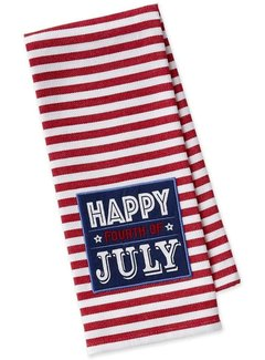 DII Happy Fourth of July Dish Towel