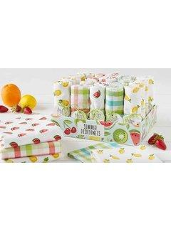 DII Summer Fruit Flour Sack Towel