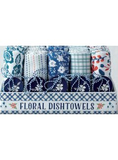 DII Blue Garden Dishtowel