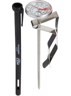 """CDN ProAccurate® Beverage & Frothing Thermometer – 6.5"""" Stem"""