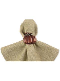 DII Pumpkin Napkin Ring