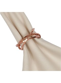 DII Copper Napkin Rings