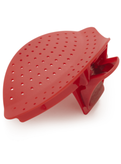 Chef's Planet Clip & Drain - Red