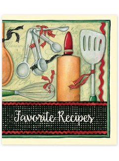 Brownlow Gifts Cook With Love Recipe Cards Binder, 4x6