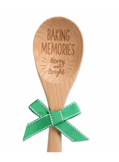 Brownlow Gifts Baking Memories Wooden Spoon