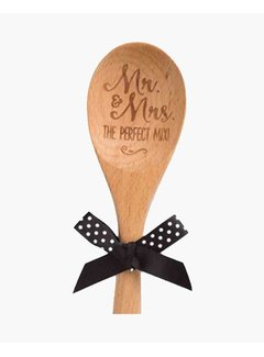 Brownlow Gifts Perfect Mix Wooden Spoon
