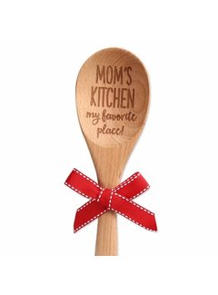 Brownlow Gifts Mom's Kitchen Wood Spoon