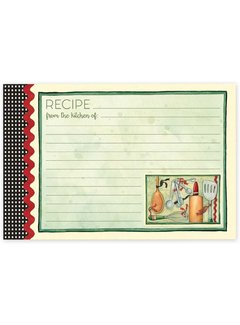 Brownlow Gifts Cook With Love Recipe Cards, 4x6